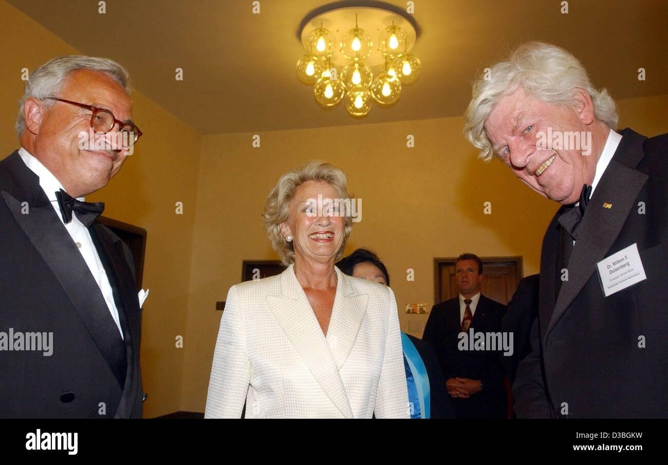 Rolf Frankfurt dpa rolf e breuer l chairman of bank roth c