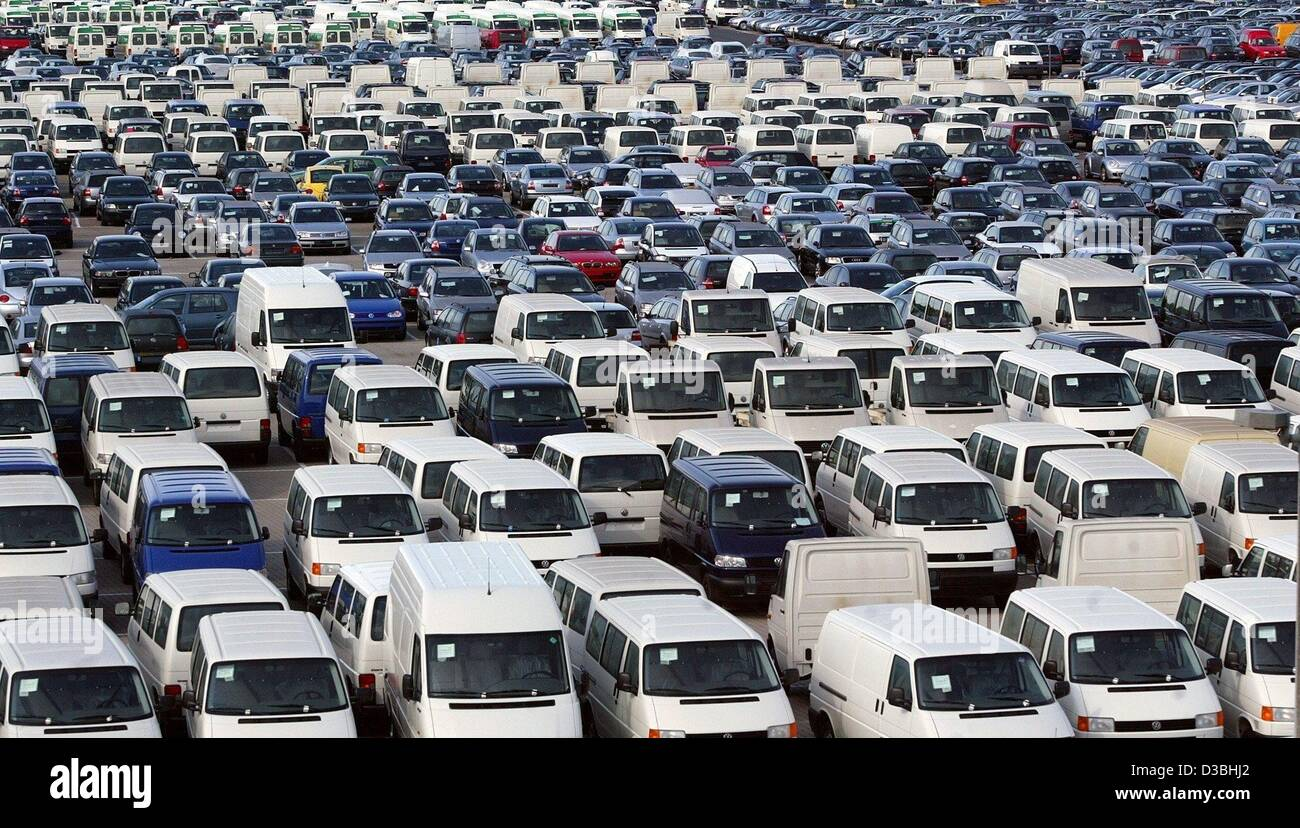 German Made Cars >> Dpa Cars Made In Germany Are Parked On The Lot Of The