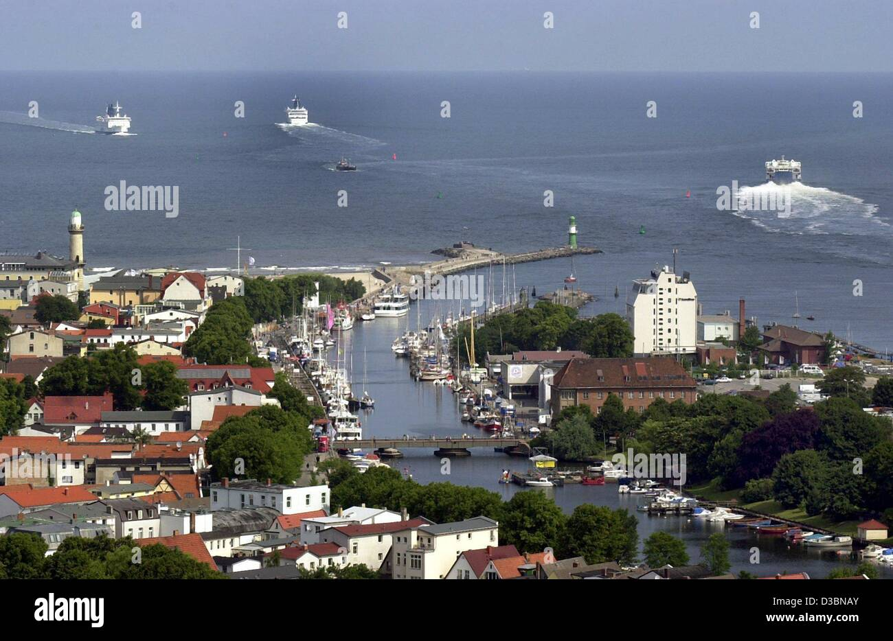 (dpa files) - A view over the city which was selected by the German National Olympic Committee (NOC) as the candidate - Stock Image