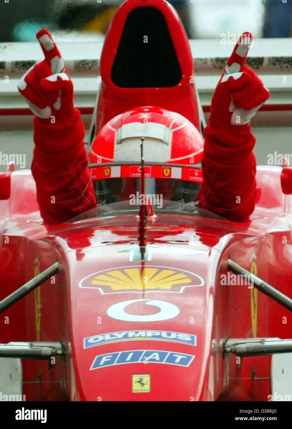 Michael Schumacher Pit Girl Suomi