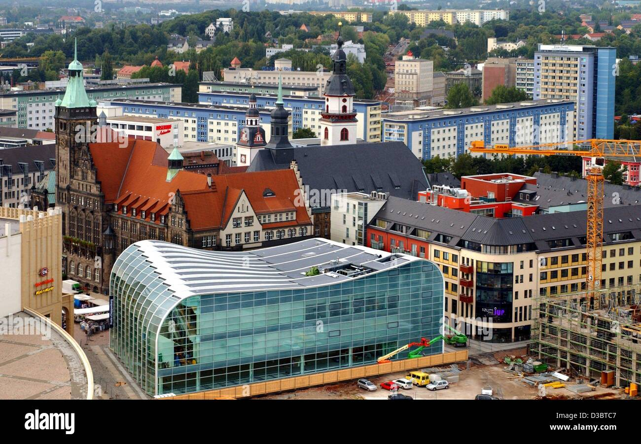dpa a view over the city centre of chemnitz eastern germany 1 stock photo 53735703 alamy. Black Bedroom Furniture Sets. Home Design Ideas