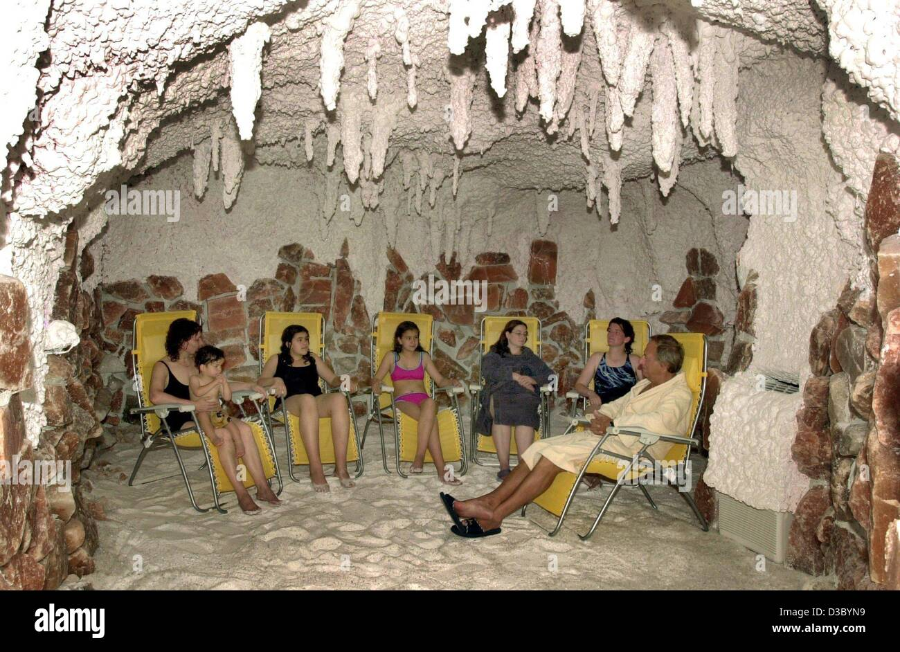 Salt caves in Moscow 12