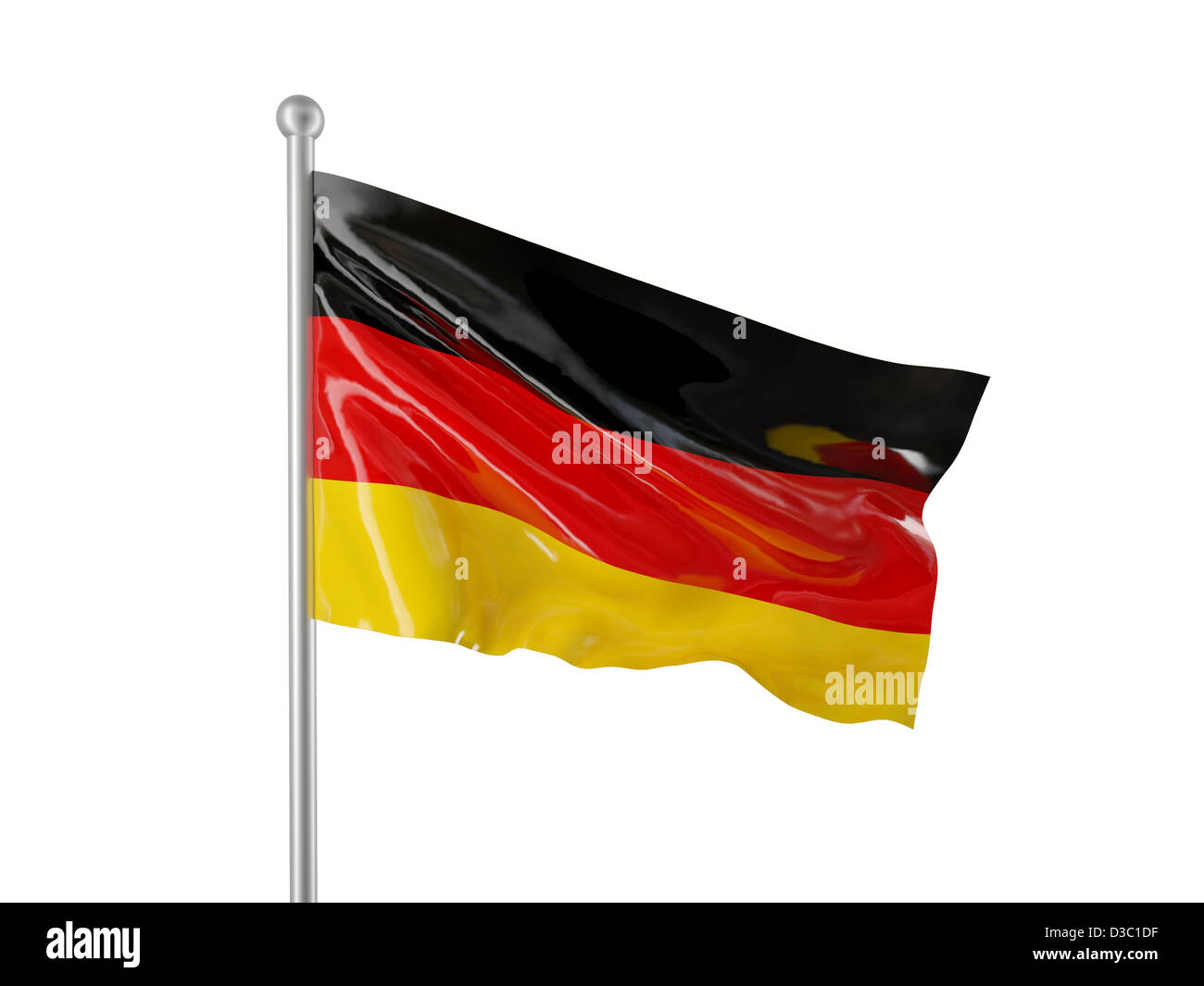 german flag isolated on white background stock photo 53739659 alamy