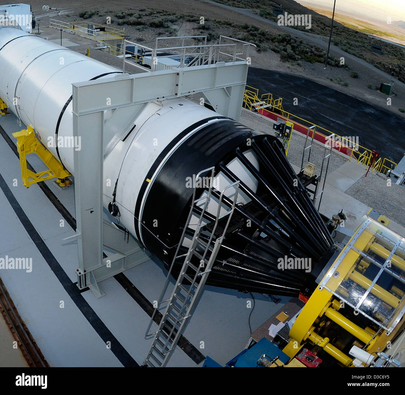 Ares I Rocket: 3.6 Million Pounds of Thrust! (NASA, Ares, 8/21/09) - Stock Image