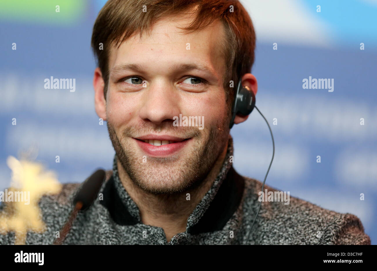 Actor Paul Hamy Attends The Press Conference Of On My Way Elle Stock Photo Alamy