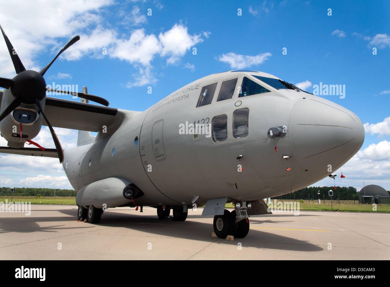 Hellenic Air Force Alenia C 27J Spartan transport plane