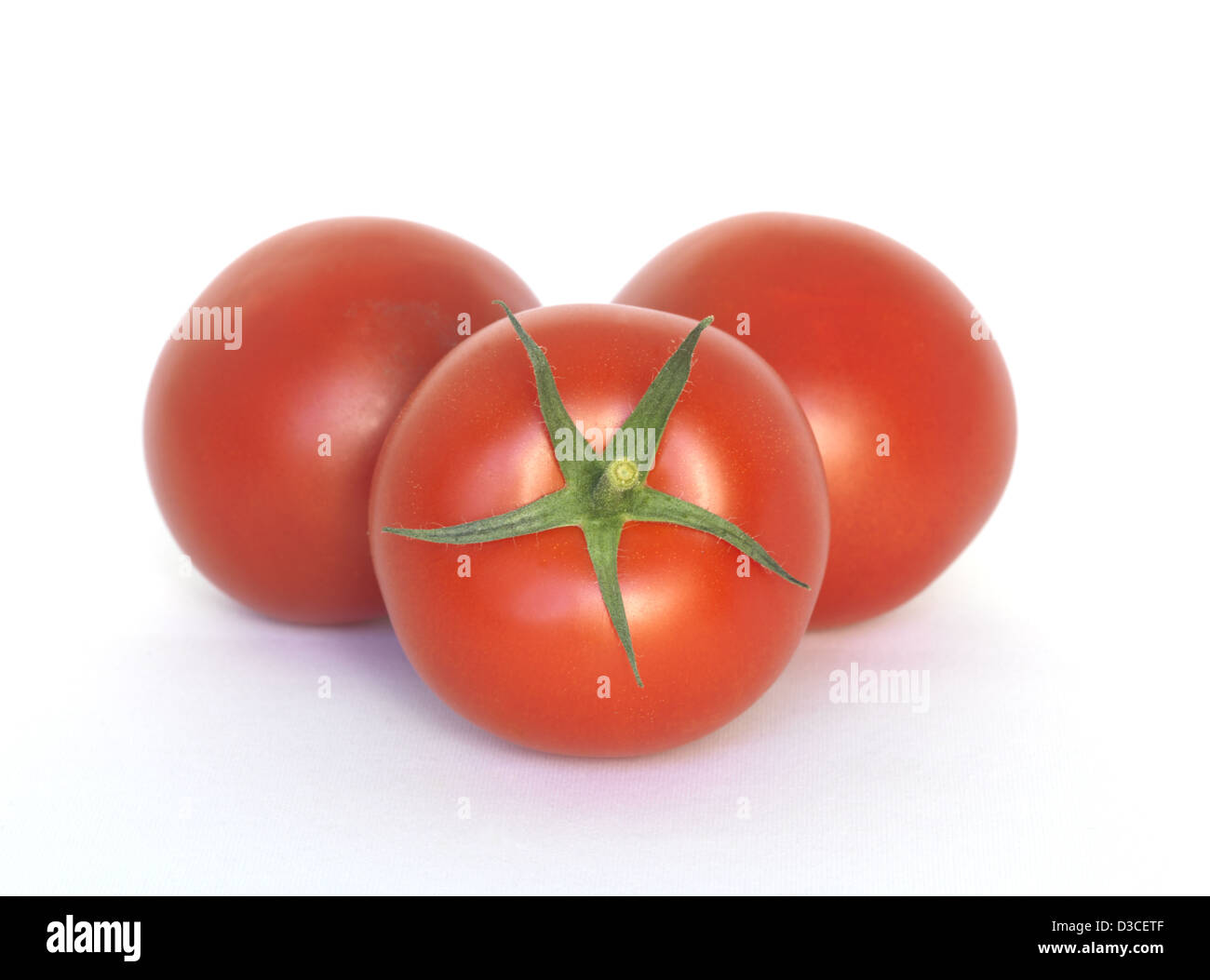 Tomato Vegetable Red Fresh - Stock Image