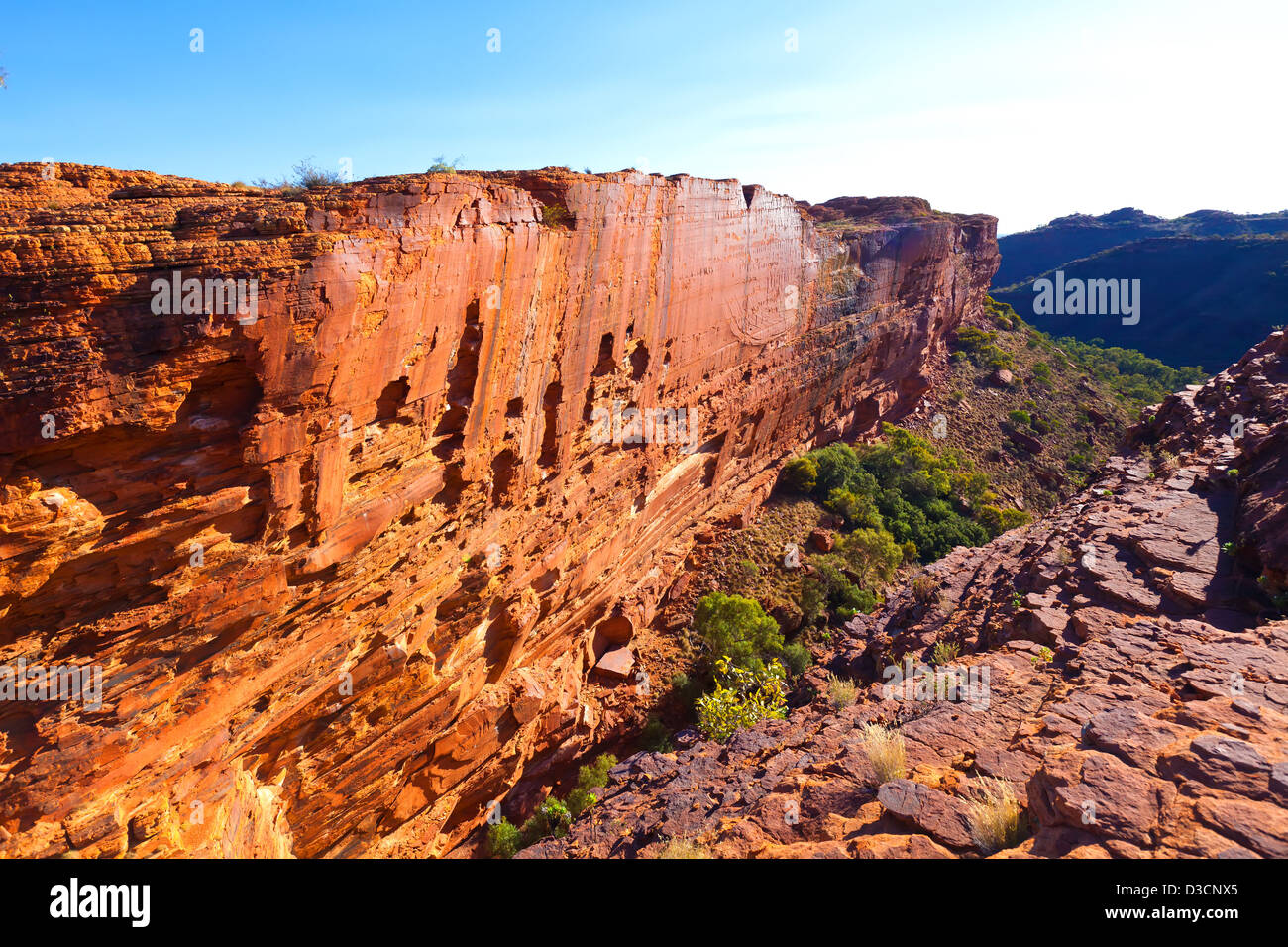 Kings Canyon Northern Territory Central Australia Stock Photo