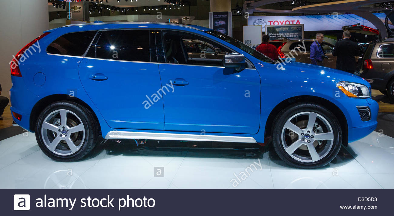 Toronto Canada February   Exhibition Of The Volvo Xc  During The Torontos International Auto Show  The Show Is Arriving To  Years This