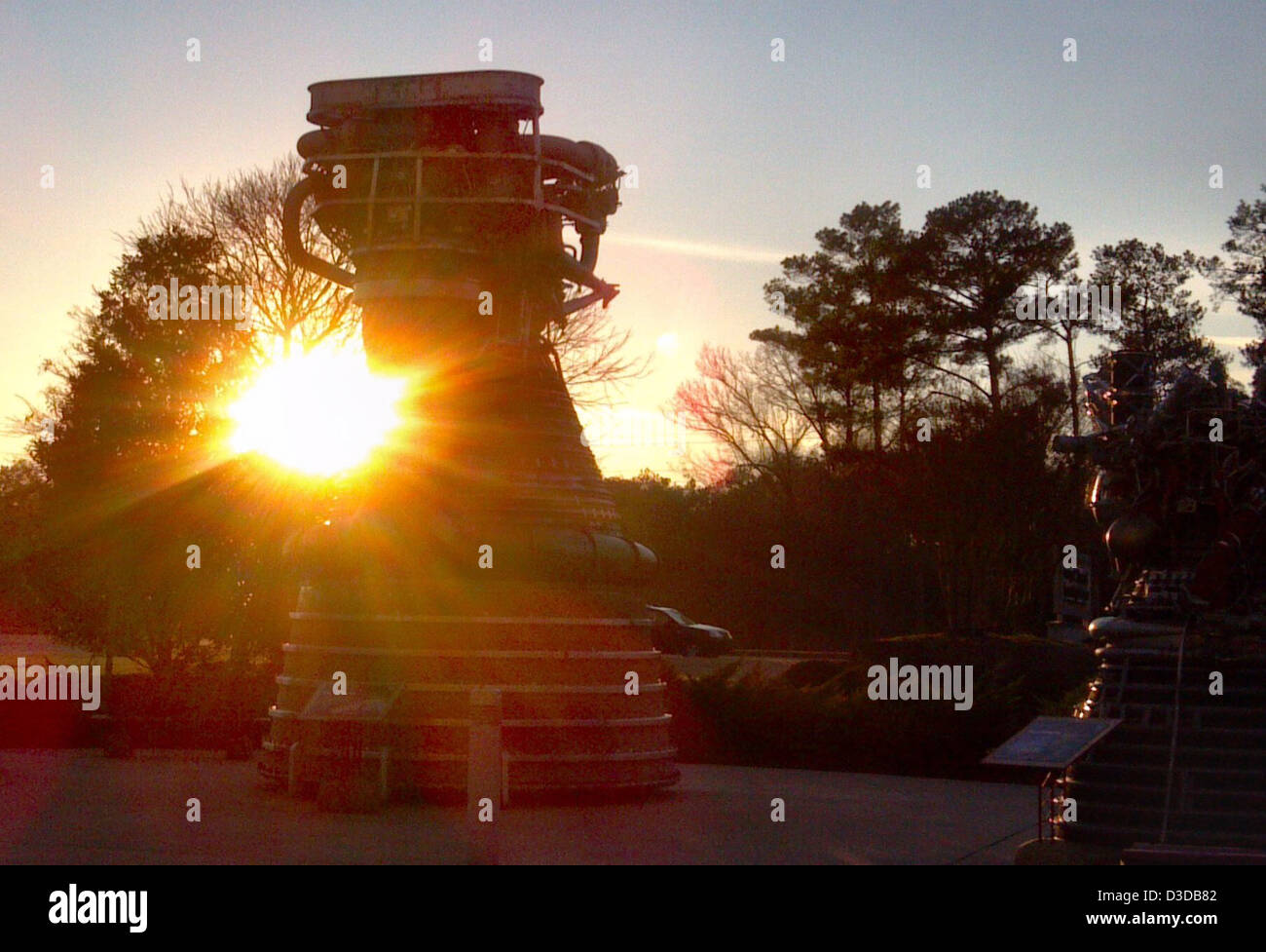 Propulsion Legacy (NASA, Marshall, 01/29/12) - Stock Image