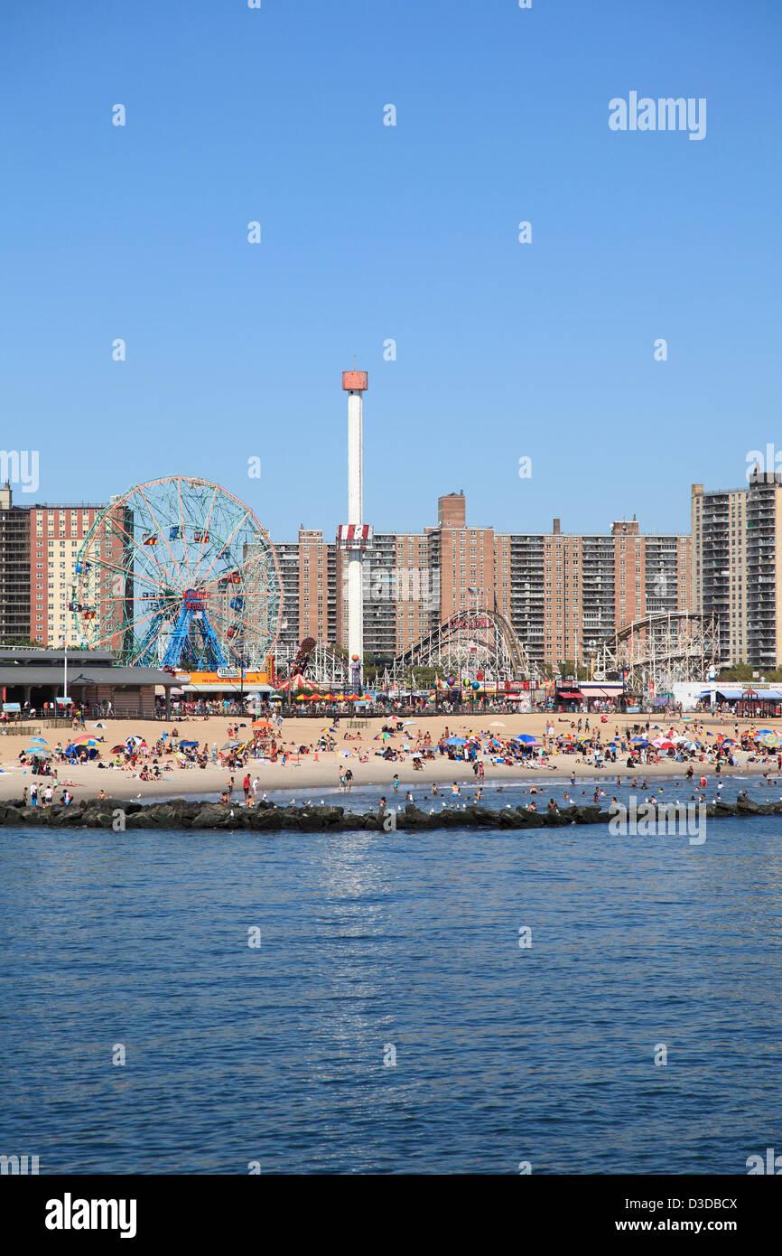 Coney Island, Brooklyn, New York City, USA  - Stock Image