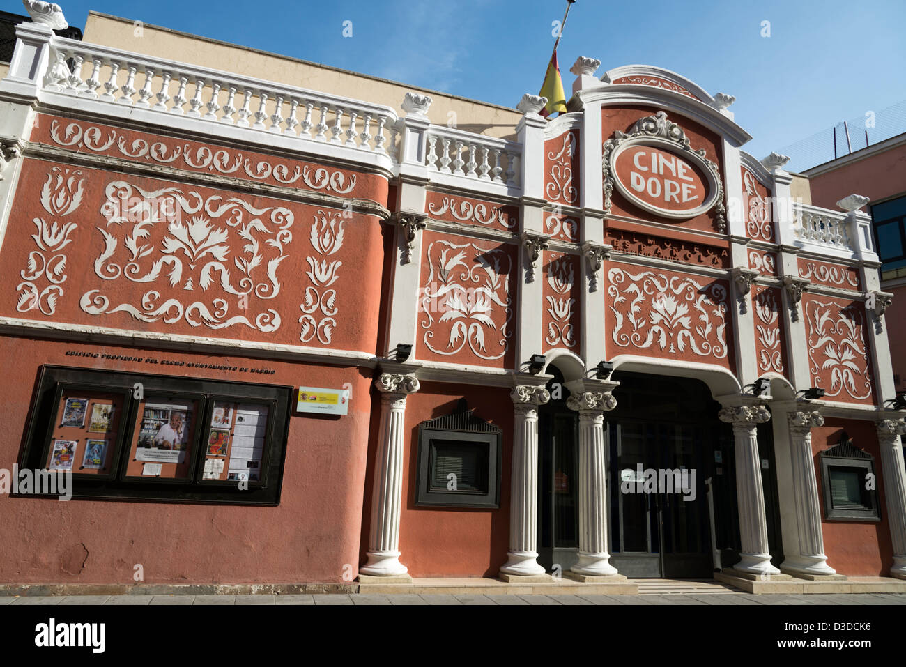 Cine Dore in Anton Martin, Madrid, Spain - Stock Image