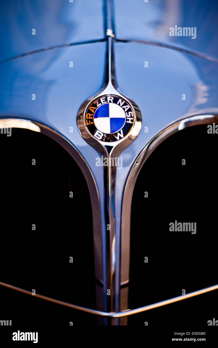 BMW, Mille Miglia car race, Italy, 2008 - Stock Image