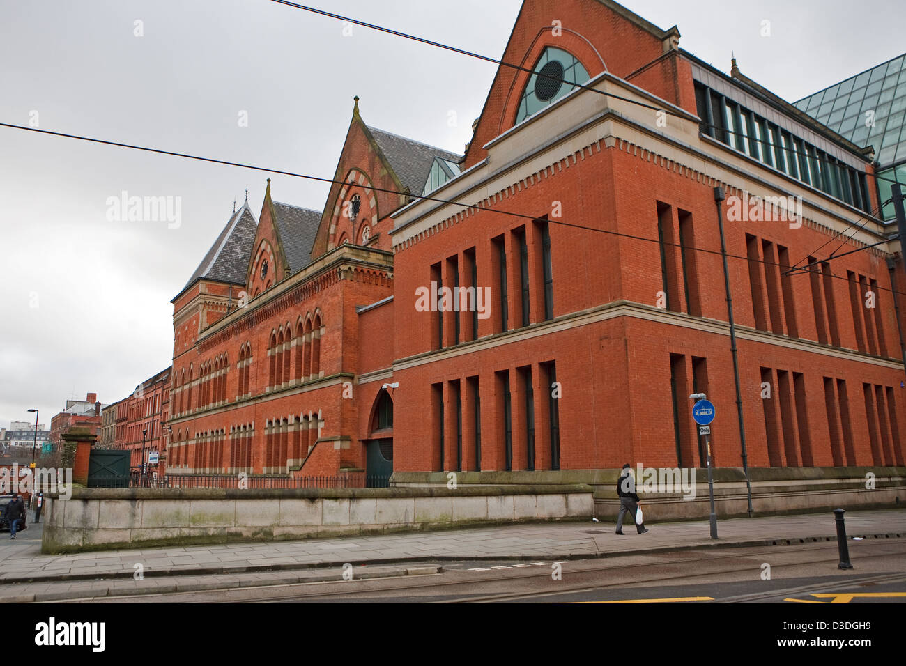 The Crown Court Of Manchester England Stock Photo