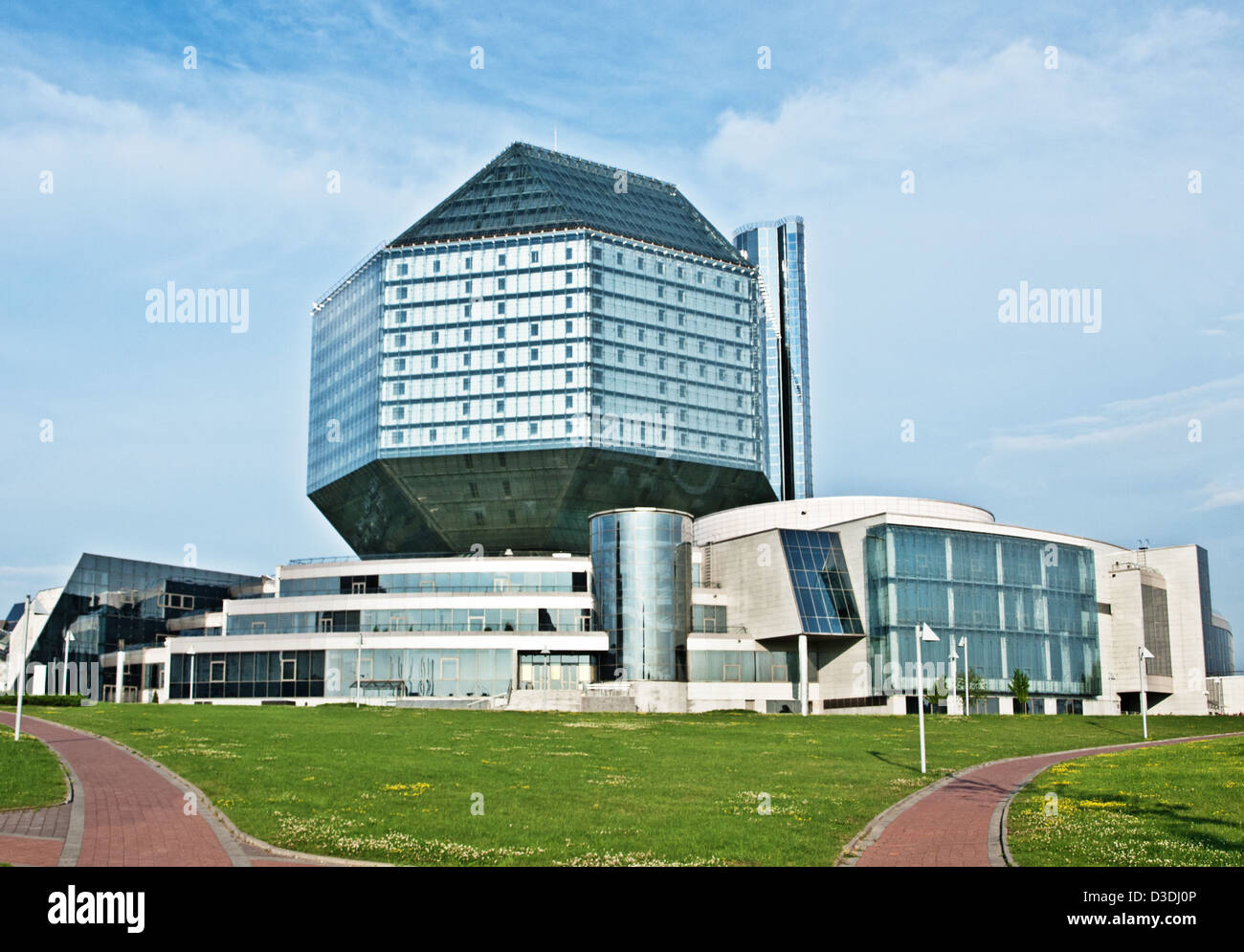 National Library of Belarus - Stock Image