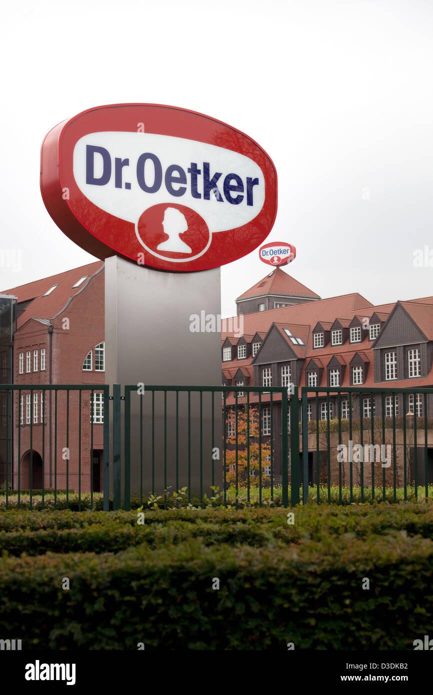 Bielefeld, Germany, headquarters of the Oetker Group - Stock Image