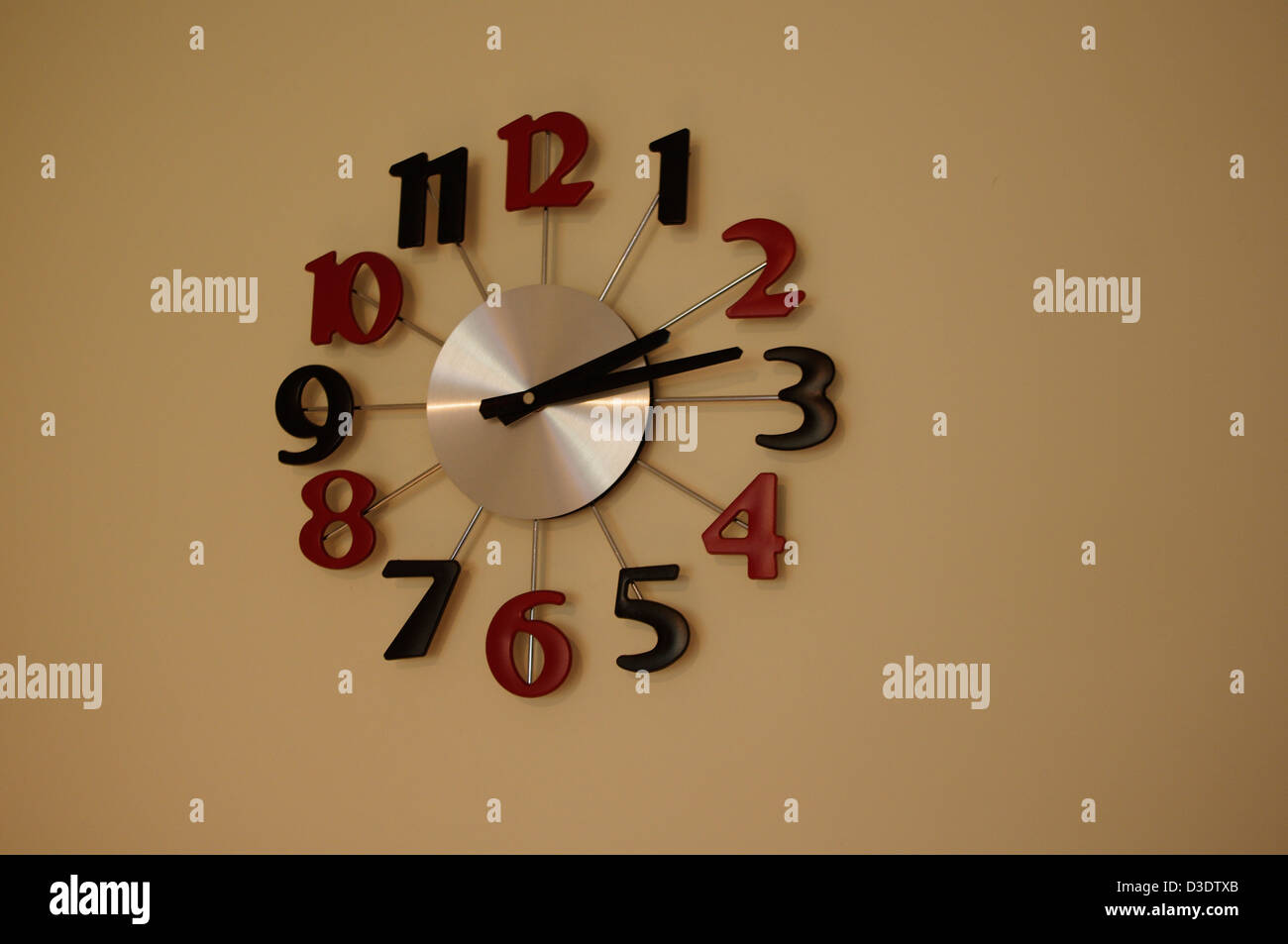 kitchen wall clock - Stock Image