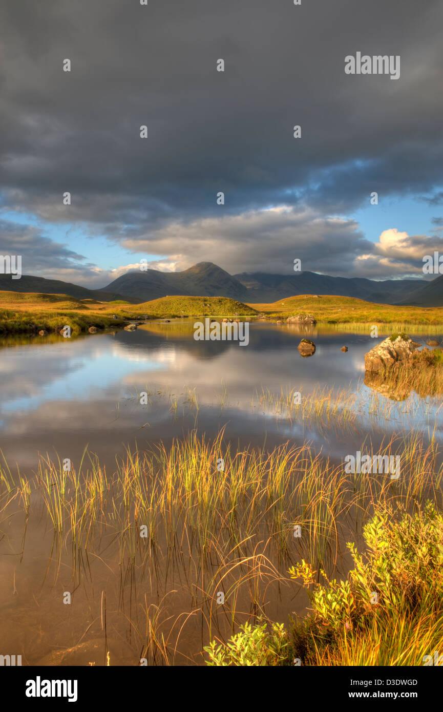 rannoch moor, scotland - Stock Image