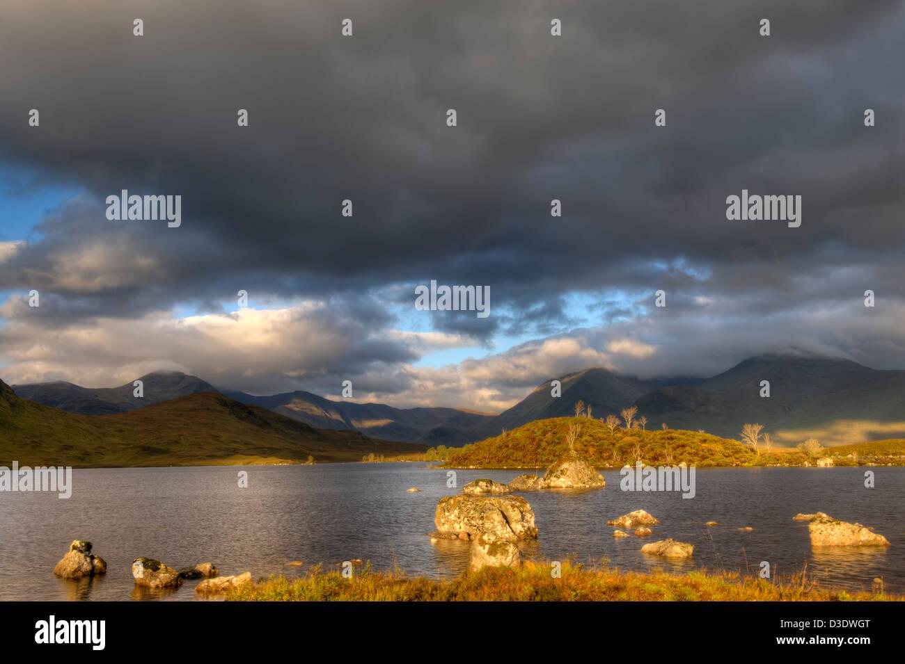 Rannoch moor, scotland. - Stock Image