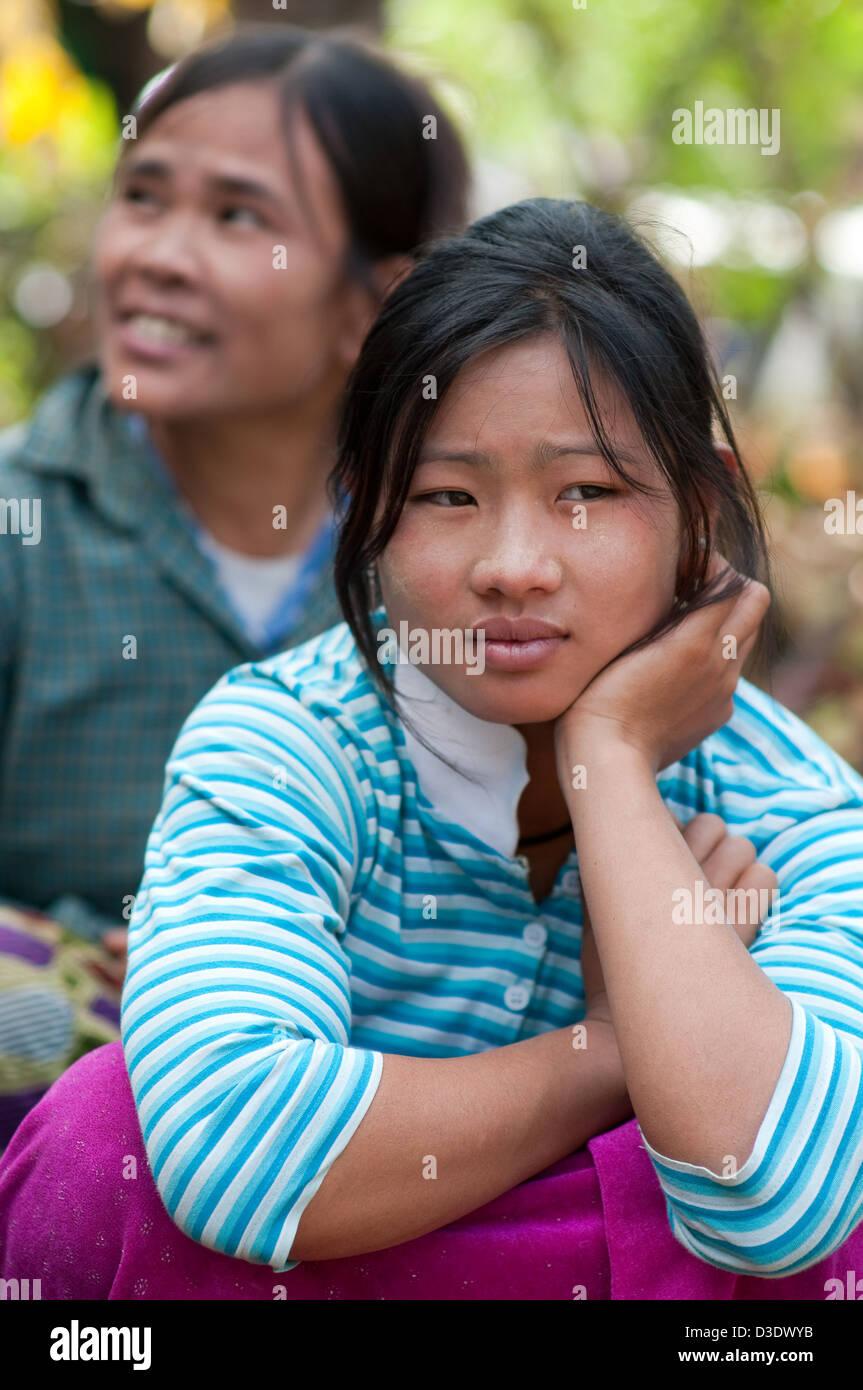 Chiang Rai Thailand Women Of Ethnic Minority Palaung Stock Photo 53780815 Alamy