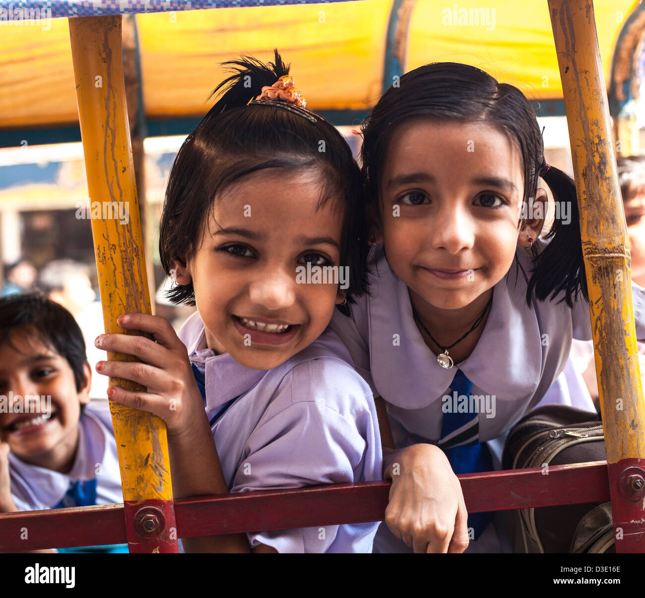 School fun girl indian
