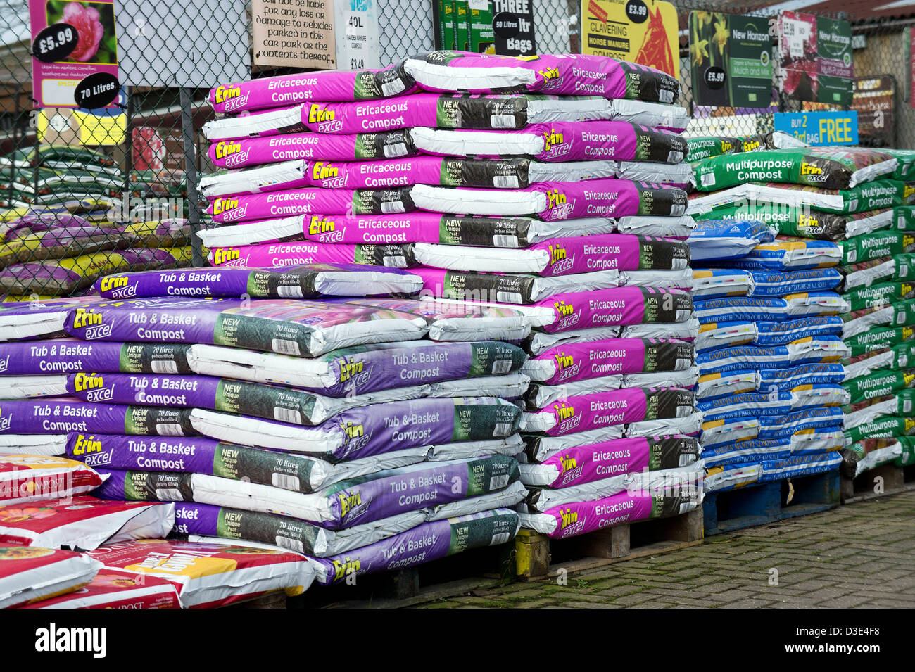 Bags Of Compost High Resolution Stock Photography And Images Alamy