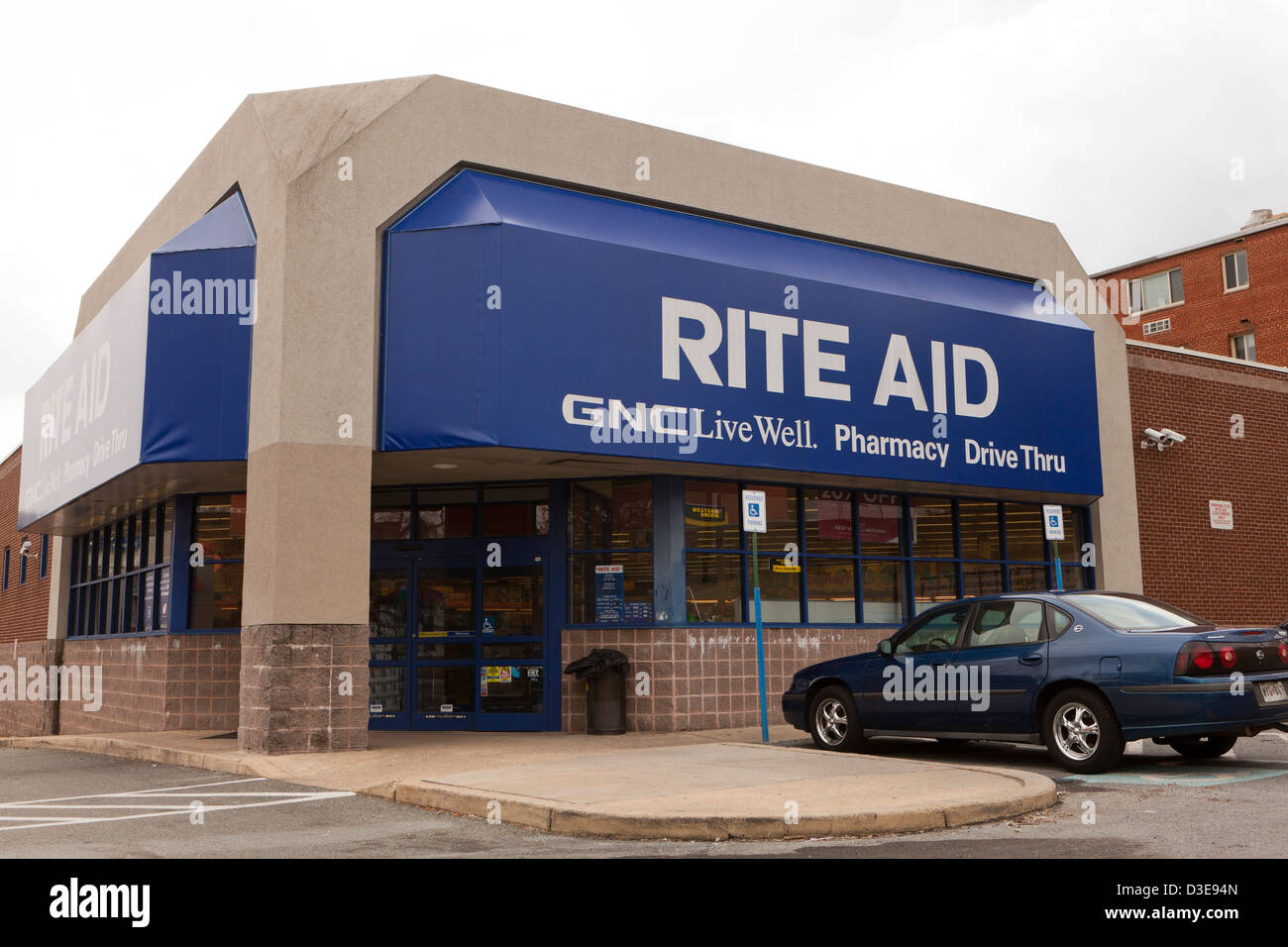 Rite Aid storefront - Stock Image