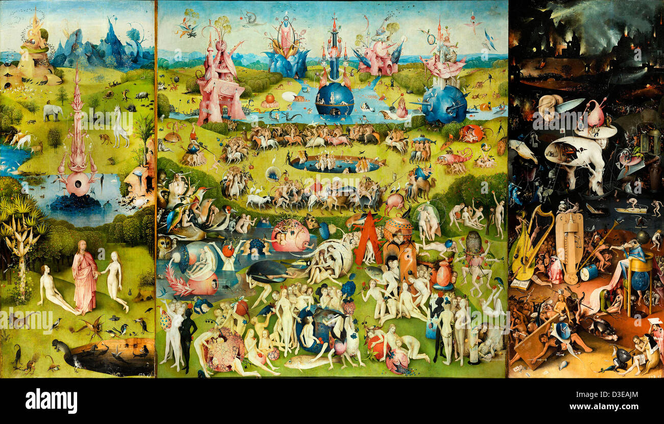 Hieronymus Bosch, The Garden of Earthly Delights 1503\u20131504