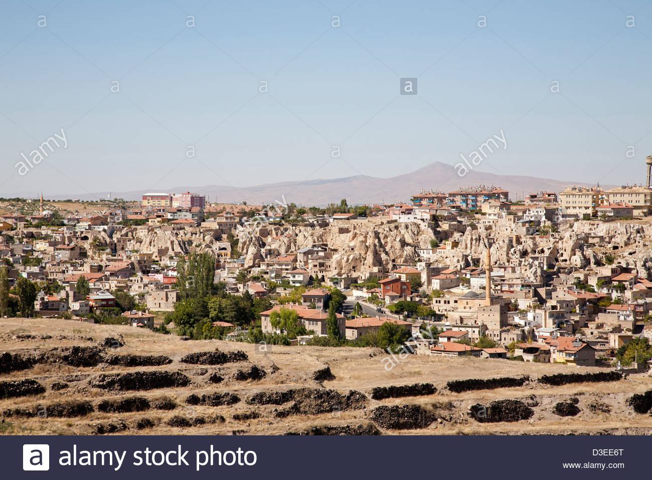 nevsehir,cappadocia,anatolia,turkey,asia - Stock Image