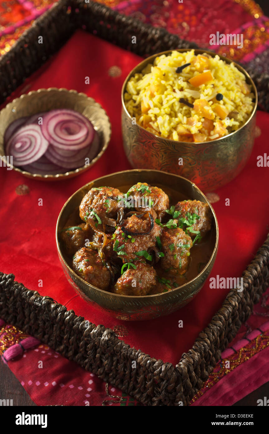 Kofta curry indian food stock photo 53793922 alamy kofta curry indian food forumfinder Gallery