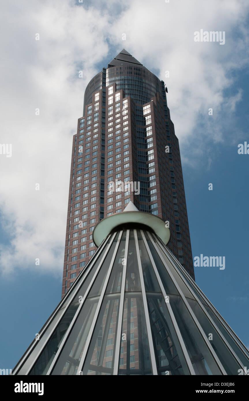 Messeturm Frankfurt am Main, Detail, Architektur, Architecture, Stock Photo