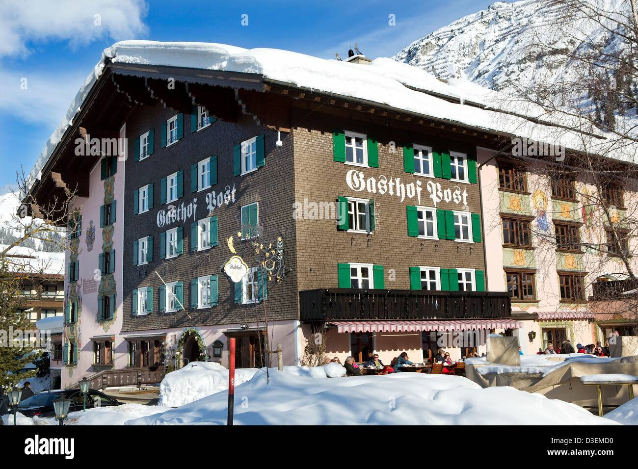 Gasthof Post High Resolution Stock Photography And Images Alamy