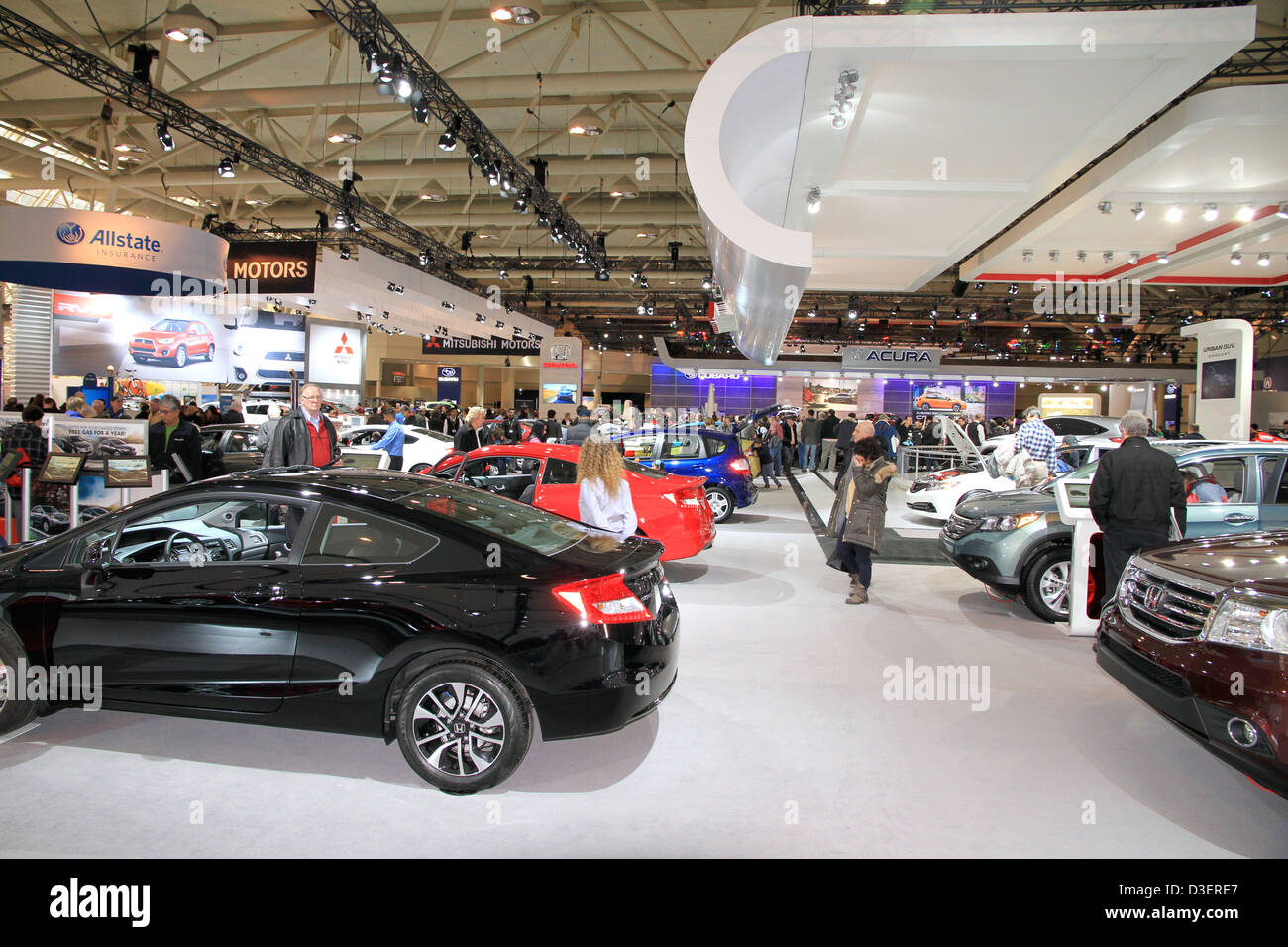 Toronto International AutoShow - Stock Image
