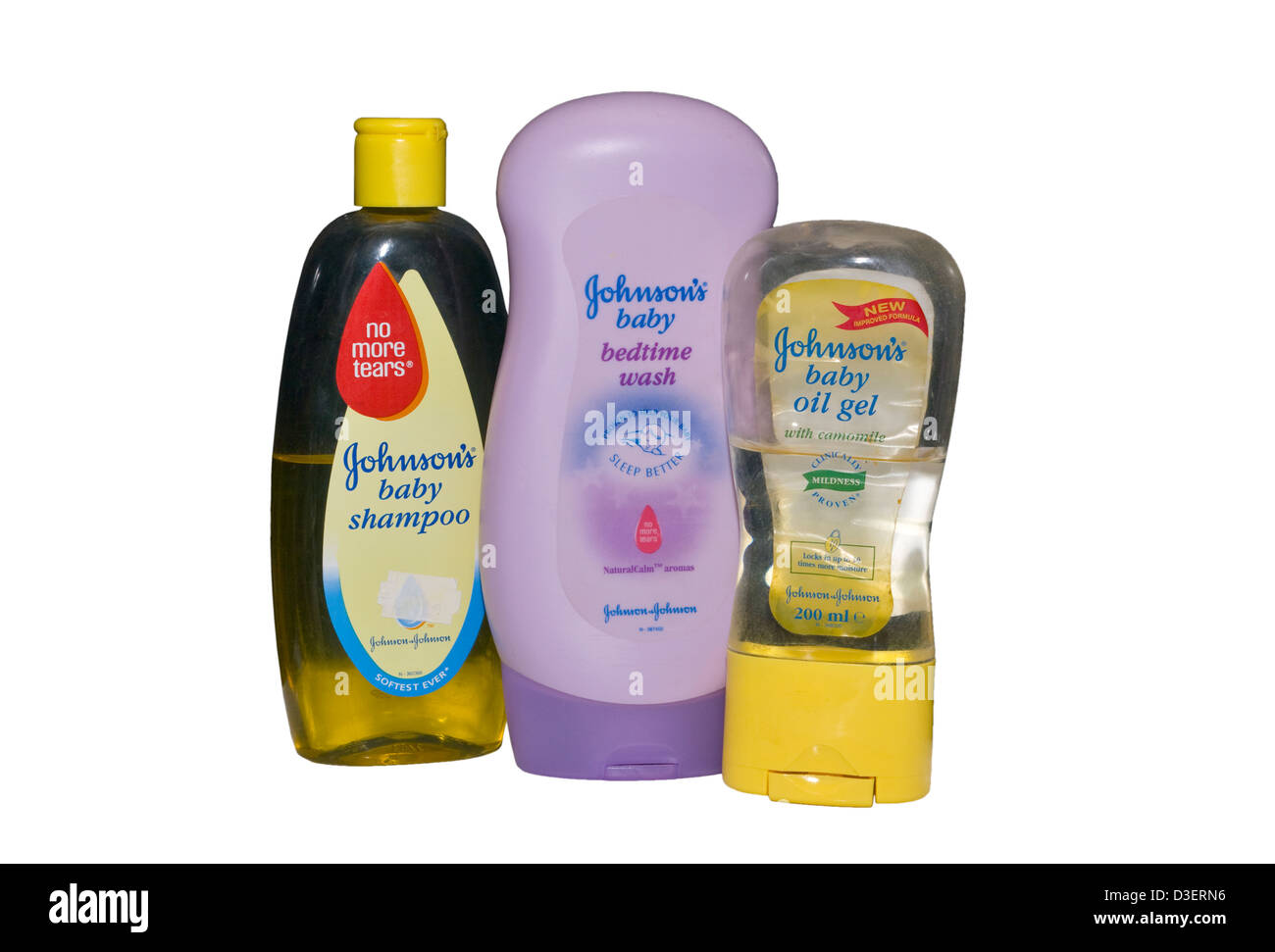 Johnsons Baby Products Stock Photos Oil 200ml Hair And Skin Image