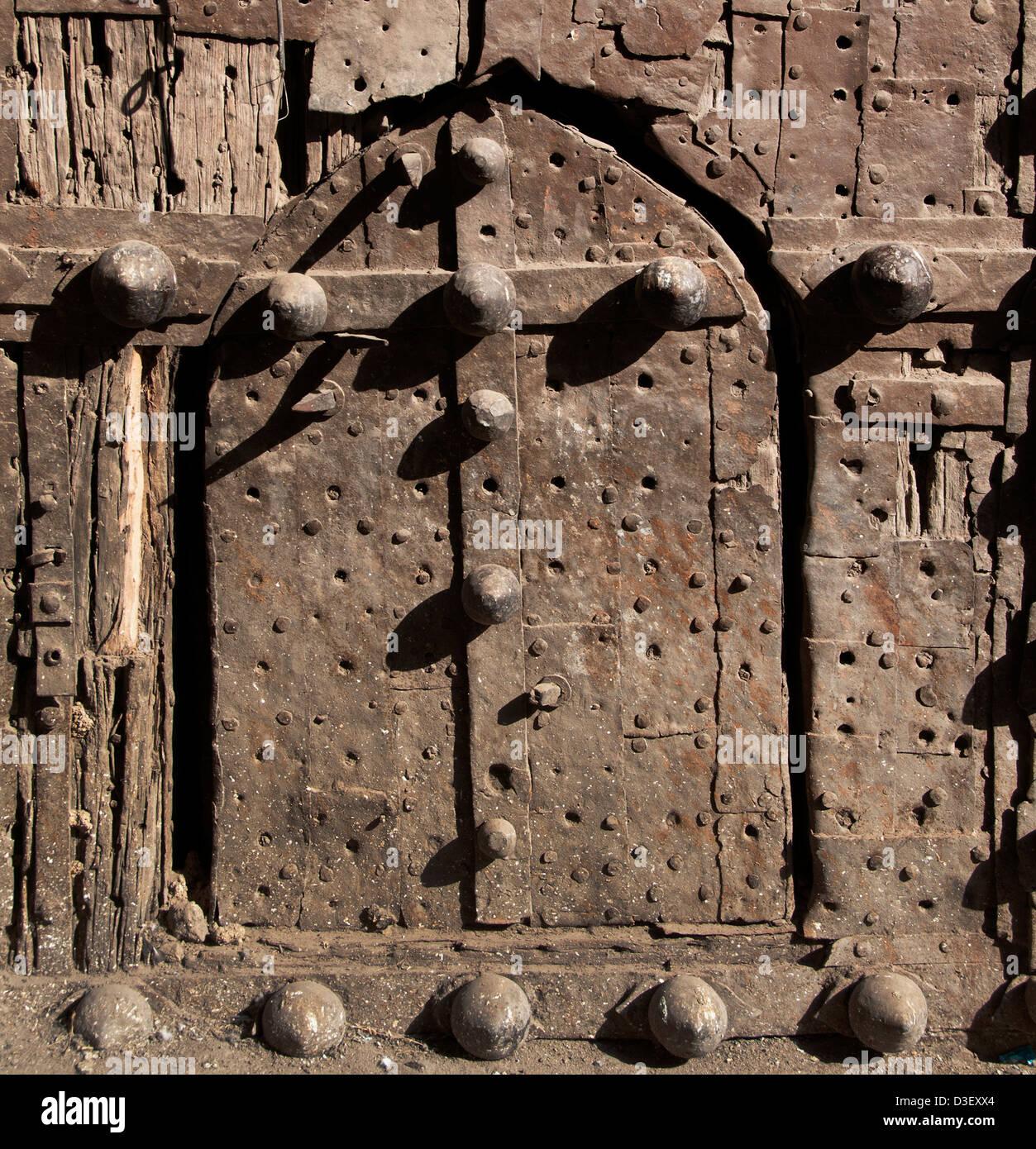 Golkonda Fort ruined city capital of ancient Kingdom of Golkonda 1518–1687 Hyderabad India Andhra Pradesh - Stock Image