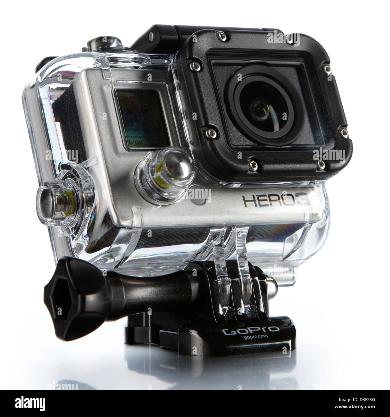 hero 3 black edition camera video HD - Stock Image