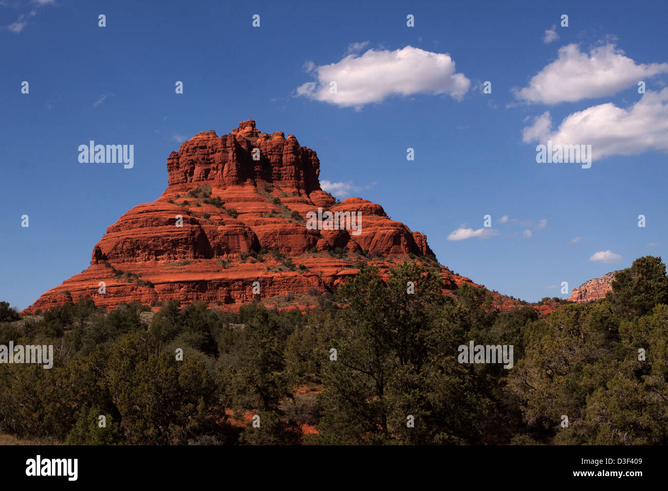 Bell Rock in Sedona, AZ - Stock Image