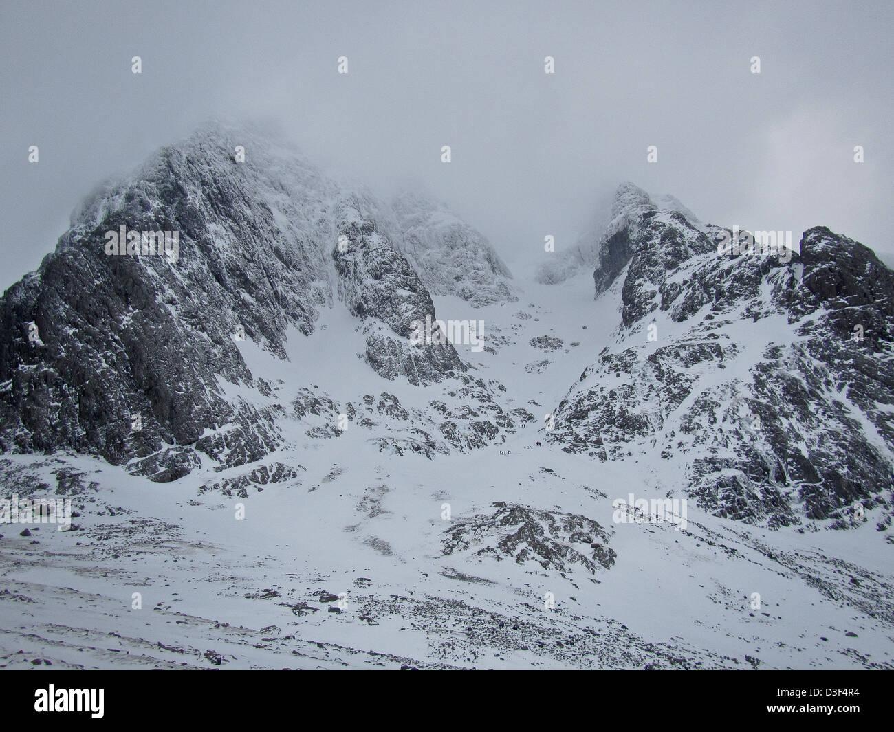 Ben Nevis the United Kingdoms highest mountain near Fort William in Scotland Stock Photo