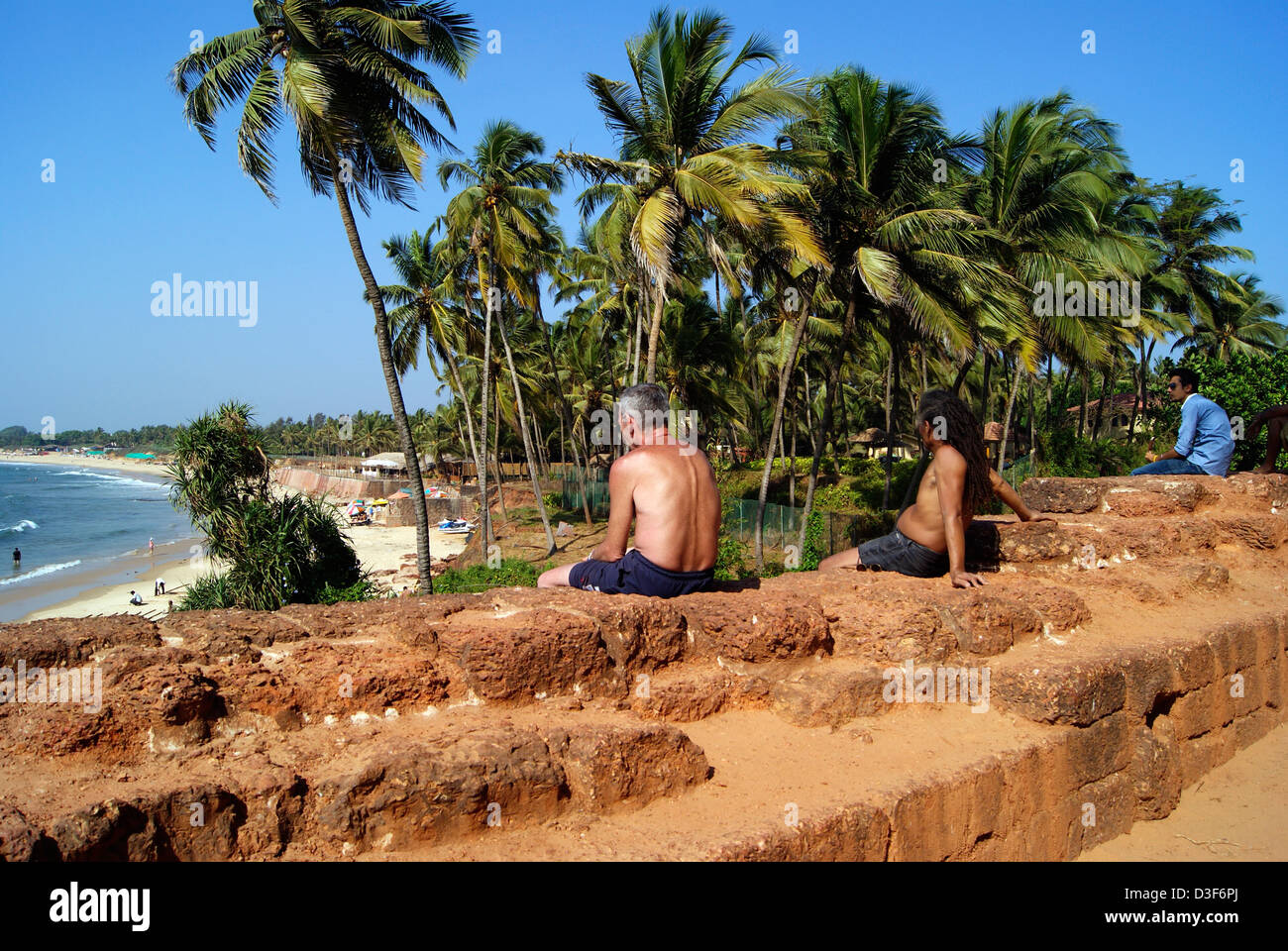 Goa Beach Sceneries High Resolution Stock Photography And Images Alamy