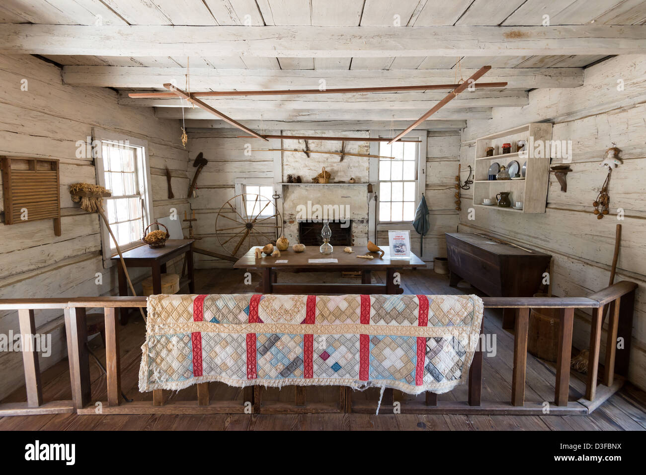 Hand hewn stock photos hand hewn stock images alamy for Hewn log cabin kits