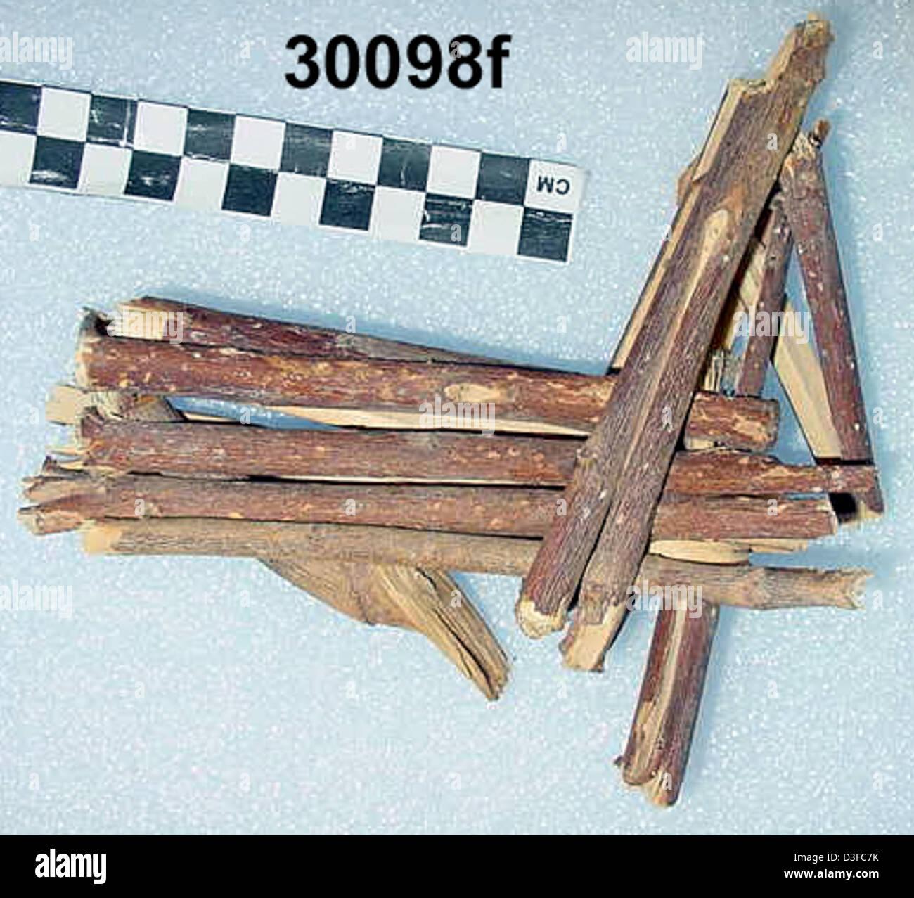 Split-Twig Figurine GRCA_30098f - Stock Image