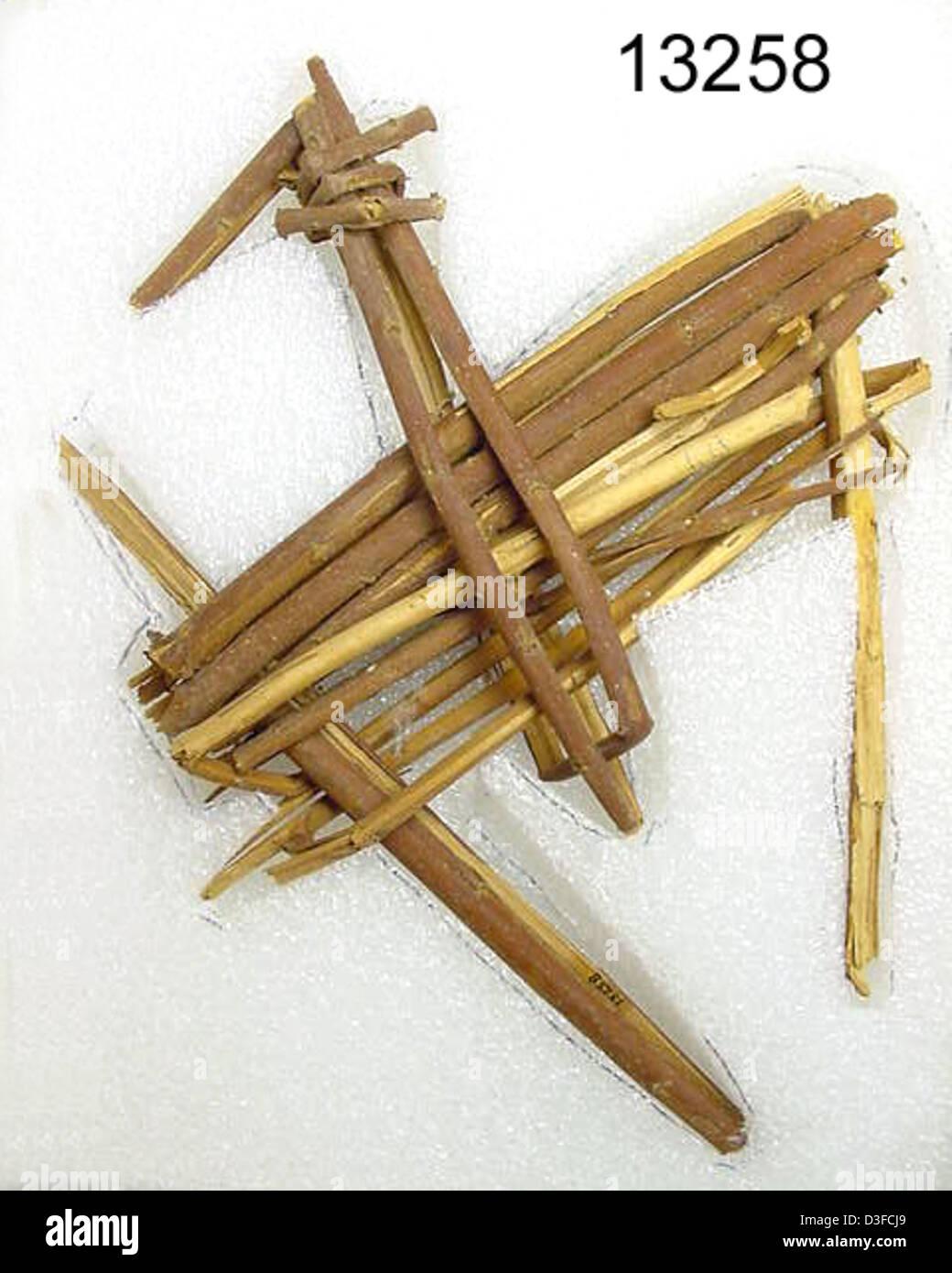 13258 Grand Canyon_Split-Twig Figurine - Stock Image
