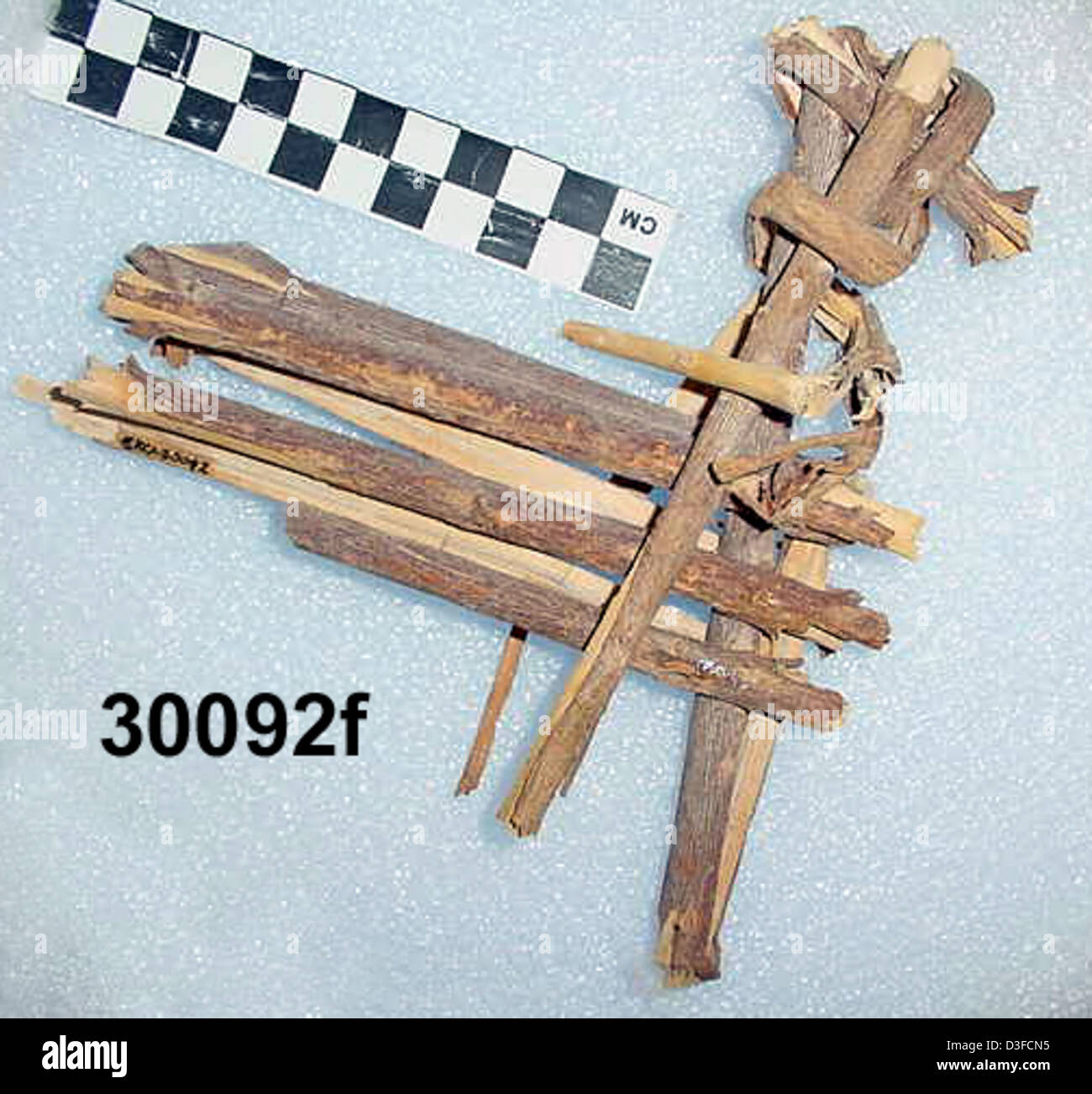 Split-Twig Figurine GRCA_30092f - Stock Image