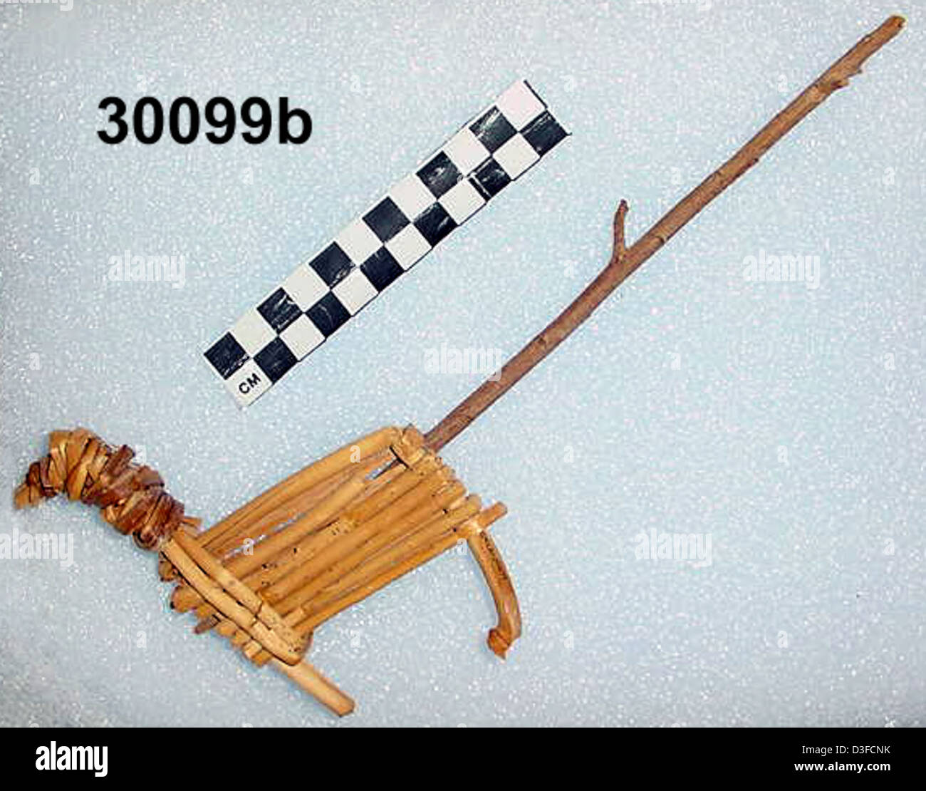 Split-Twig Figurine GRCA_30099b - Stock Image