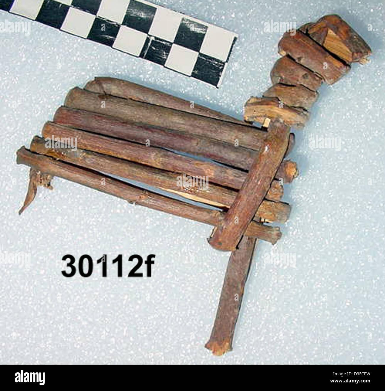 Split-Twig Figurine GRCA_30112f - Stock Image