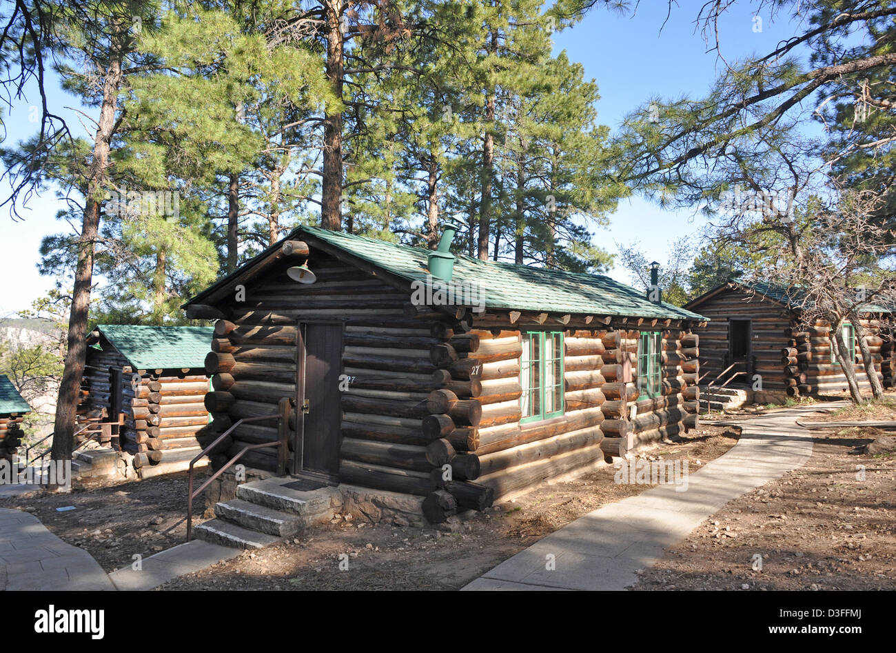 north near canyon of lodge cabins locationphotodirectlink rim picture grand arizona pioneer national park the
