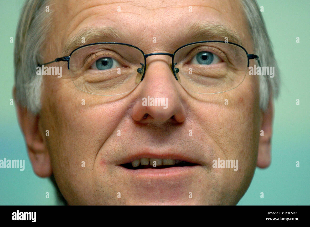 (dpa) - The photo shows Lars G. Josefsson, Chairman of the supervisory board of energy company Vattenfall, during - Stock Image