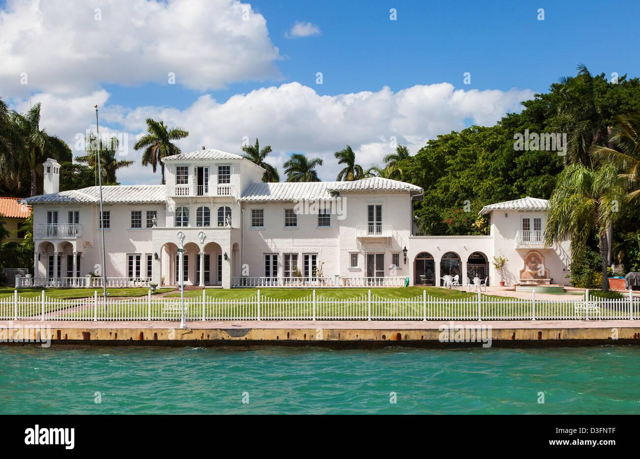 Location Villa Star Island Miami