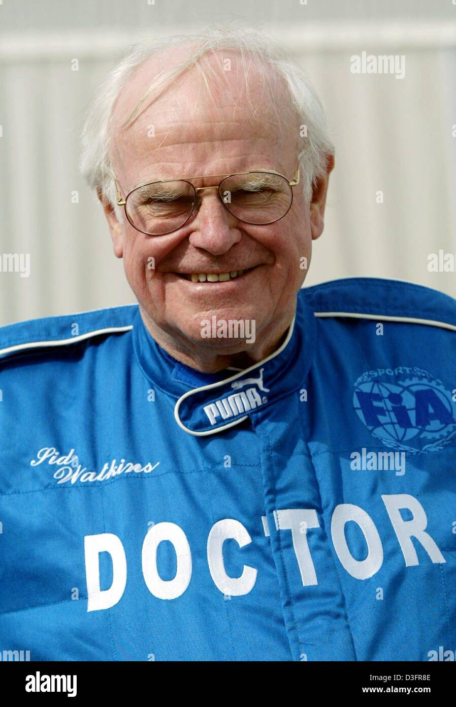 dpa) - Sid Watkins, medical doctor at the formula one race