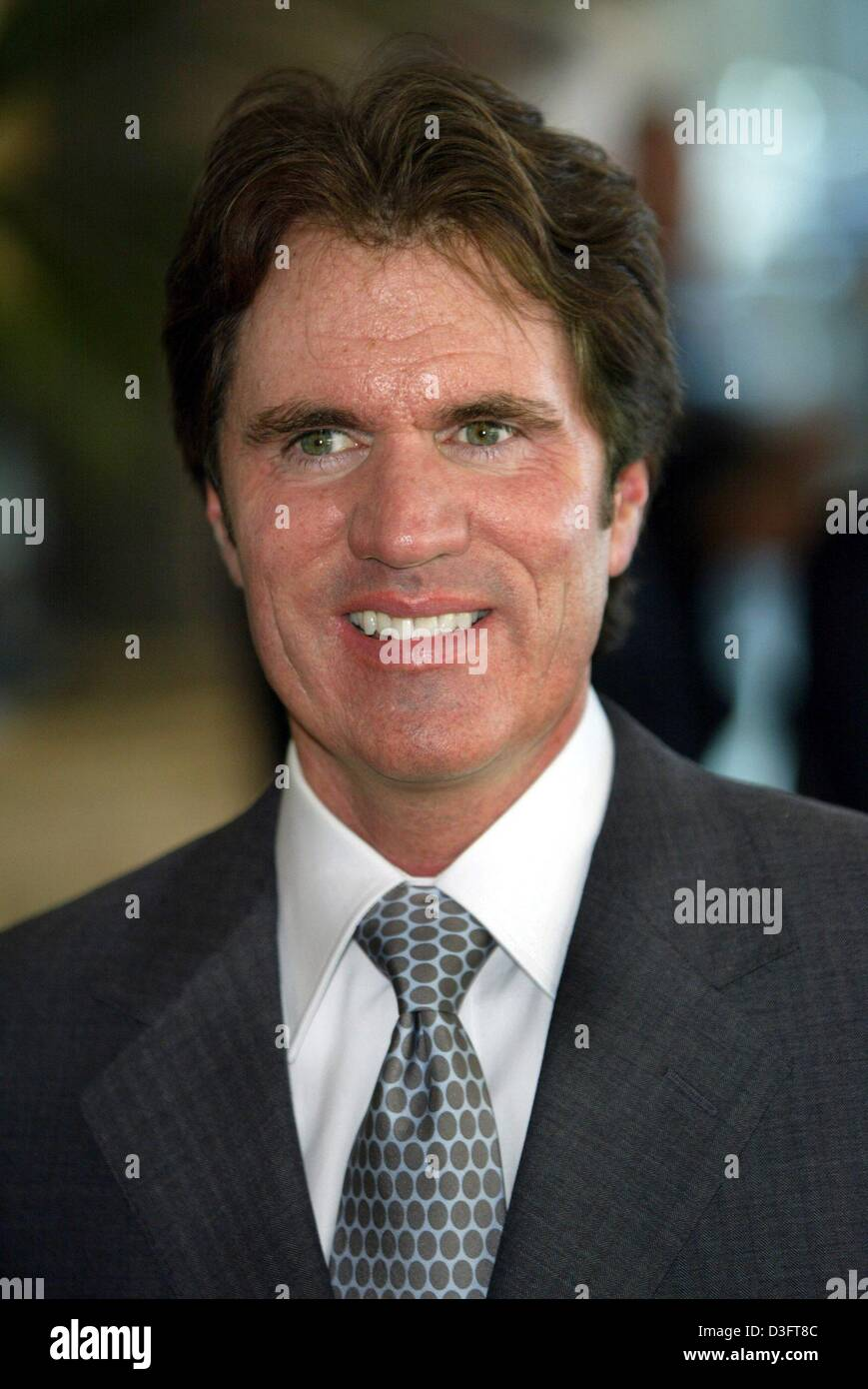 (dpa) - US film director Rob Marshall smiles while he poses for a picture during a dinner evening with other oscar - Stock Image